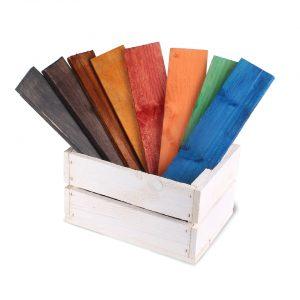 Akú farbu na drevo si vybrať?