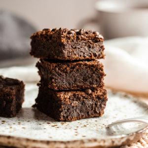 Vegánske fazuľové brownies si zamilujete okamžite